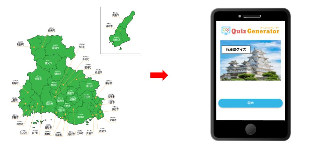 Hyogo Quiz-Smartphone