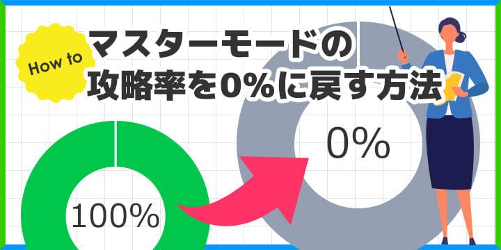 QuizGeneratorの攻略率を0%に戻す方法
